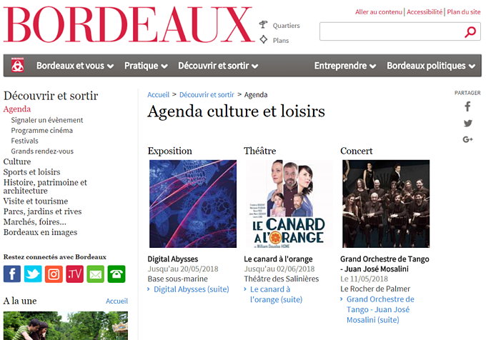 Page de Bordeaux