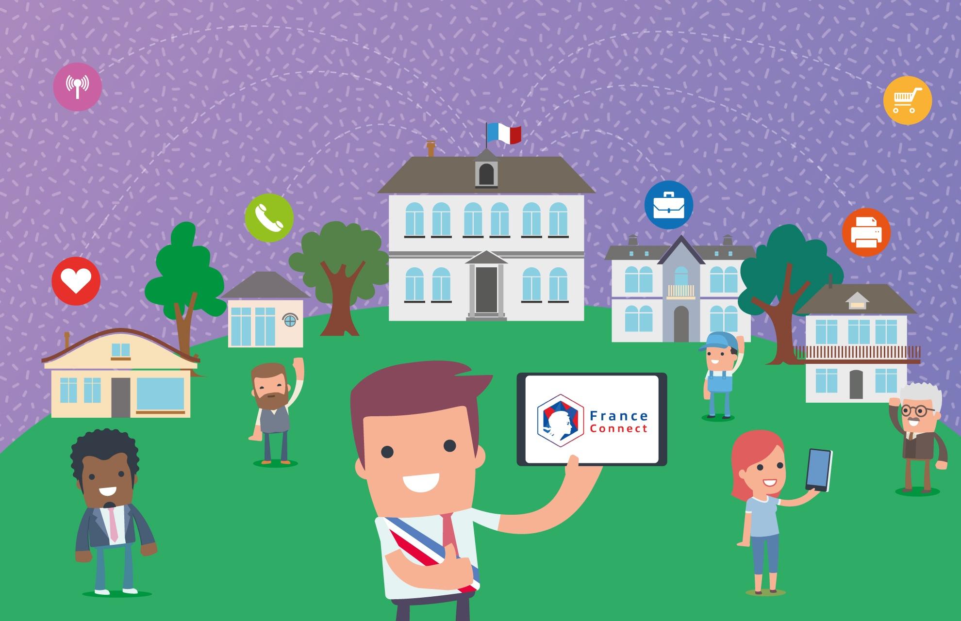FranceConnect, l'identifiant pour tous les services de votre commune